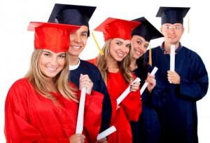 Graduates w Diplomas