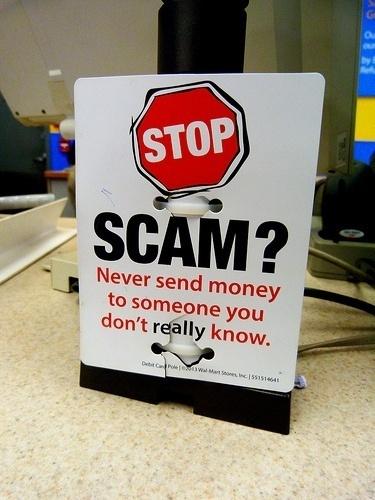 scam photo