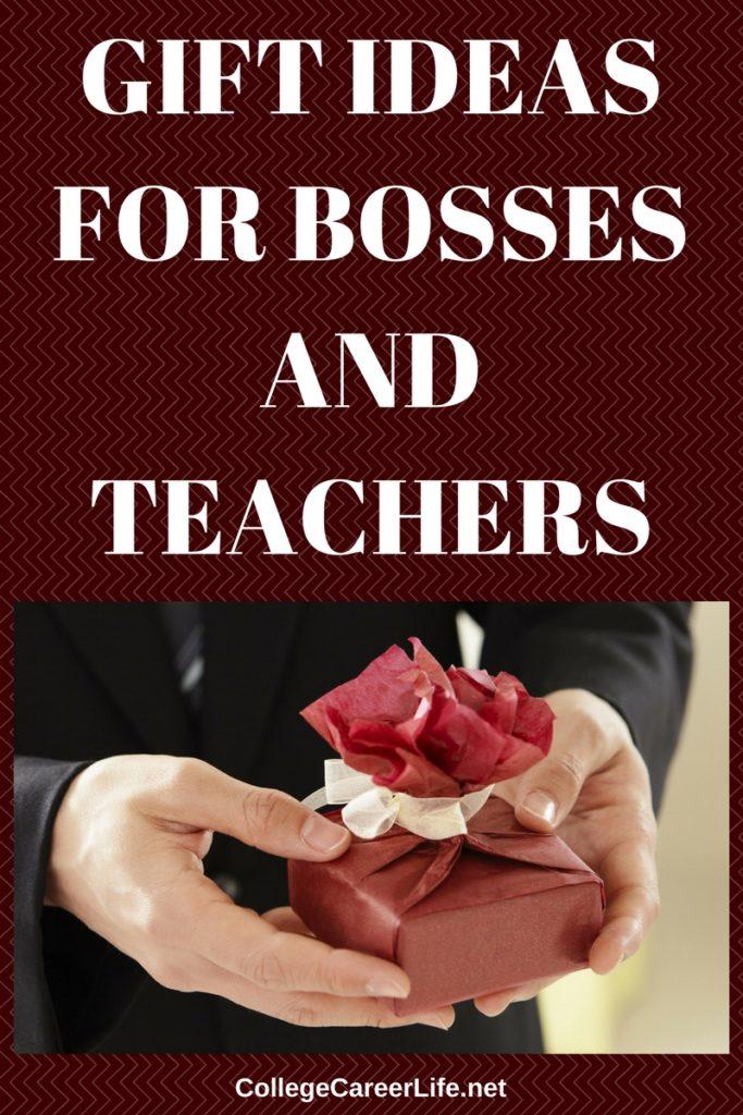 gift ideas for bosses and teachers